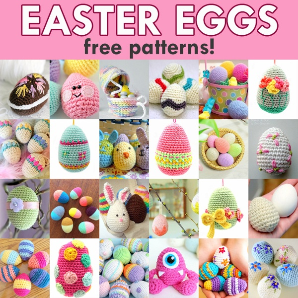Free Pattern: Easter Eggs | 600x600